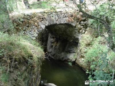 Valle del Lozoya - Camino de la Angostura;federacion de montaña madrid mochila de senderismo